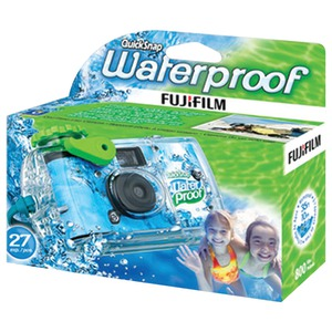 FUJIFILM QuickSnap Marine Waterproof Single-Use Camera 7025227