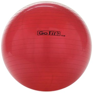 GOFIT Exercise Ball with Pump (55cm; Red) GF-55BALL