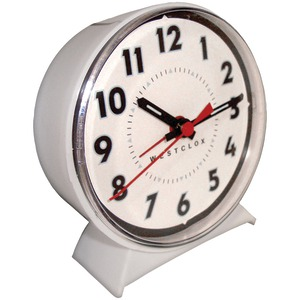 WESTCLOX Keno Key-wound Loud-Bell Mechanical Alarm Clock 15550