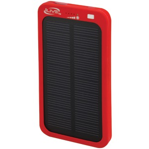 ILIVE 2,100mAh Solar Charger for Mobile Devices WP6216R