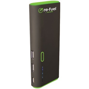 RE-FUEL 13,000mAh 2-Port Rechargeable Power Bank RF-A130