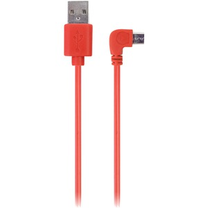 IESSENTIALS 90? Micro-USB Cable, 3.5ft (Red) IE-90DMICRO-RD
