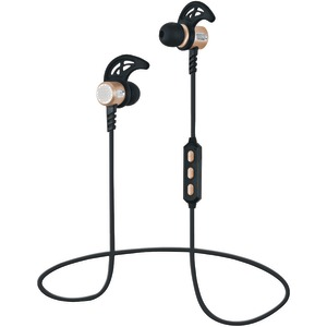 SUPERSONIC Bluetooth(R) Sport Earbuds with Microphone (Gold) IQ-132BT-GOLD