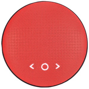 TIC Cookie Ultra-Portable Bluetooth(R) Speaker (Red) BD1-RD