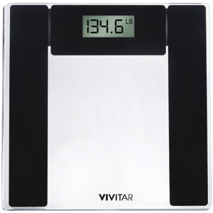 VIVITAR Digital Bathroom Scale (Clear) PS-V134-C