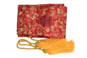 WJ Red Sword Bag With Gold Tassels M-9426-RD