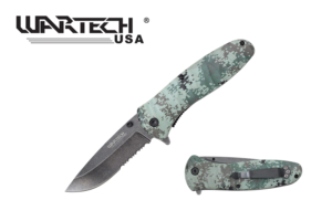 Wartech 8 inches Pocket Knife PWT04GCM