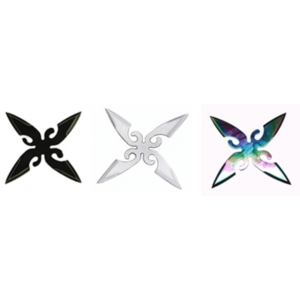 WJ Variety Color Throwing Stars ST5434-3