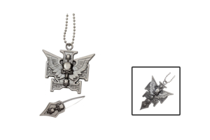 WJ Winged Skull Necklace YC8993