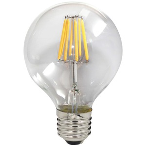 8-Watt Dimmable LED Filament Light Bulb