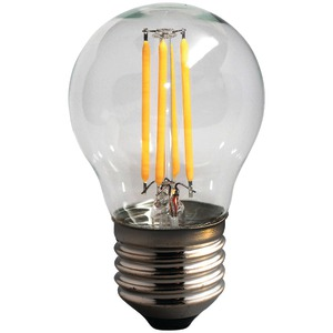 4-Watt Dimmable LED Filament Globe Light Bulb (G16)