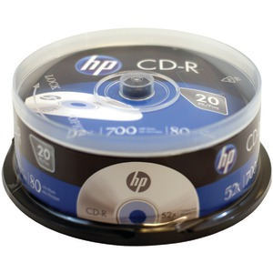 HP 700MB CD-Rs 20-pk Spindle CR52020CB