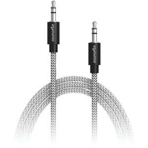 DIGIPOWER Tangle-Free Braided Auxiliary Cable 3ft SP-AFX