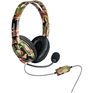 DREAMGEAR Xbox One(TM) Wired Headset with Microphone (Camo) DGXB1-6618