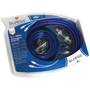 SURGE Installer Series Amp Installation Kit (4 Gauge 1600 Watts) SI-4