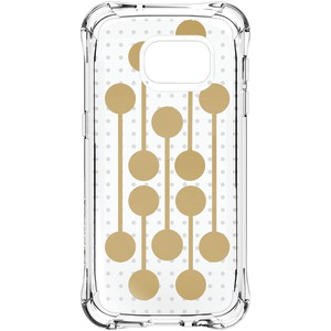 Samsung(R) Galaxy S(R) 7 Jewel Mirage Case (Translucent Clear-Gold RETRO)
