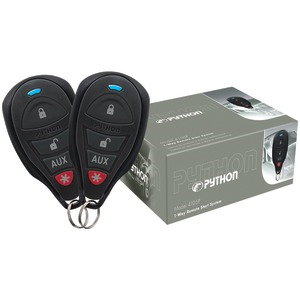 PYTHON 4105P 1-Way Remote-Start System with .25-Mile Range & 2 Remotes 4105P