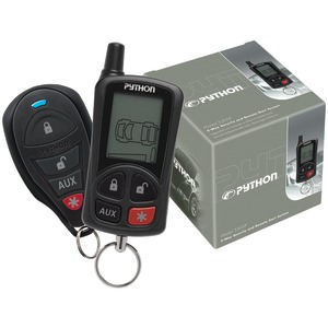PYHTON 5305P LCD 2-Way Security & Remote-Start System with .25-Mile Range & 2 Remotes 5305P
