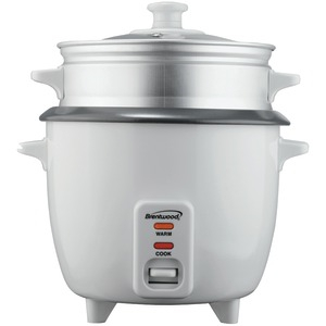 BRENTWOOD 8-Cup Rice Cooker with Steamer TS-180S