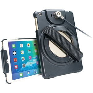 iPad mini(TM)-iPad mini(TM) 2-iPad mini(TM) 3 Anti-Theft Case with Built-in Grip Stand