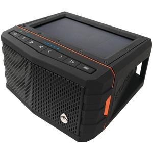 SolJam Solar-Powered Waterproof Speaker (Orange)