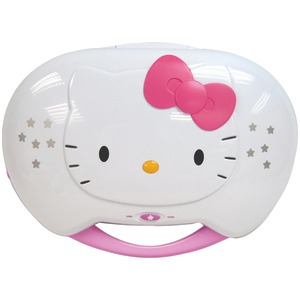 HELLO KITTY Karaoke System with CD Player KT2003CA
