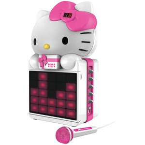 HELLO KITTY Karaoke System with LED Light Show KT2008B