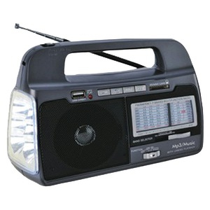 9-Band AM-FM-SW1-7 Portable Radio