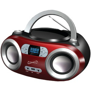 Portable Bluetooth(R) Audio System (Red)