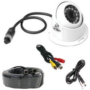 PYLE Rearview Backup Parking-Reverse Camera (White) PLCMRV9W