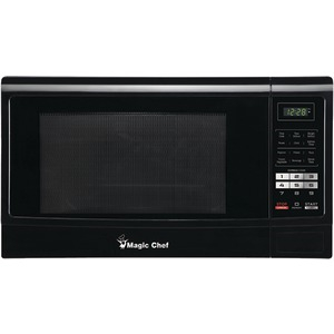 MAGIC CHEF 1.6 Cubic-ft Countertop Microwave (Black) MCM1611B