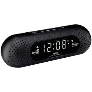 SXE Bluetooth(R) Speaker Alarm Clock Radio SXE86002
