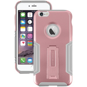 iPhone(R) 6 Plus-6s Plus Hard Case & Stand (Rose Gold)