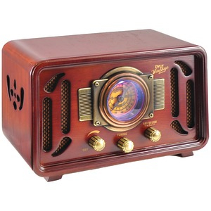 Vintage Retro-Style Bluetooth(R) Radio Speaker System