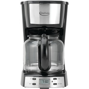 BETTY CROCKER 12-Cup Stainless Steel Coffee Maker BC-2809CB