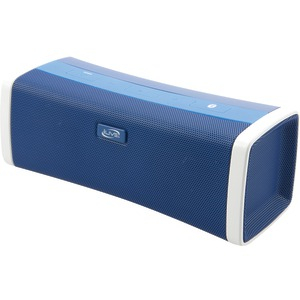 Bluetooth(R) Speaker with USB Port (Blue)