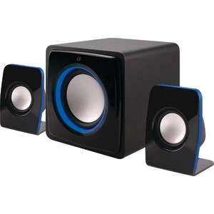 Bluetooth(R) Home Music System with LED Lights