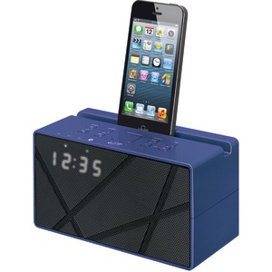 Bluetooth(R) Blue Clock Radio
