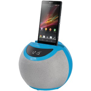 Bluetooth(R) Clock Radio (Blue)