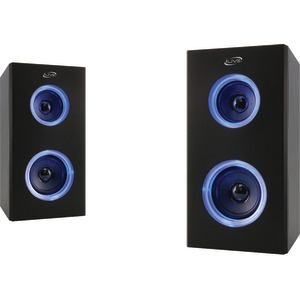 Dual Bluetooth(R) Speakers with LEDs