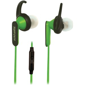 Nytro Sport Earbuds with Microphone (Green)