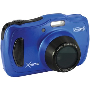 20.0 Megapixel HD Xtreme4 Waterproof Digital Video Camera (Blue)