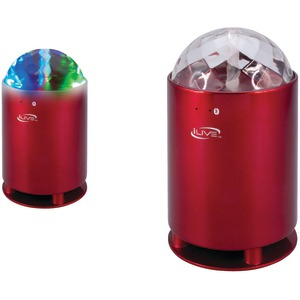 Bluetooth(R) Portable Speaker with Disco Lights