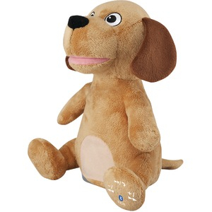 Animated Plush Animal Bluetooth(R) Speaker (Dog)
