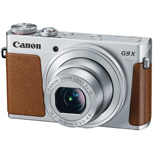 20.0 Megapixel PowerShot(R) G9X Digital Camera (Silver)