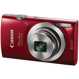 20.0 Megapixel PowerShot(R) ELPH 180 HS Digital Camera (Red)