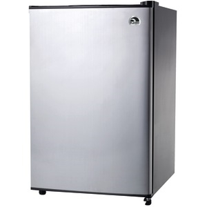 IGLOO 3.2 Cubic-ft Refrigerator with Platinum Finish FR321I-P-C