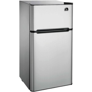IGLOO 4.5 Cubic-ft 2-Door Stainless Steel Refrigerator FR459