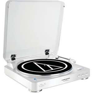AUDIO TECHNICA Fully Automatic Wireless Belt-Drive Stereo Turntable AT-LP60WH-BT