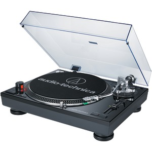 AUDIO TECHNICA Direct-Drive Professional Turntable (Black) AT-LP120BK-USB